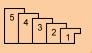 Layered frame icon