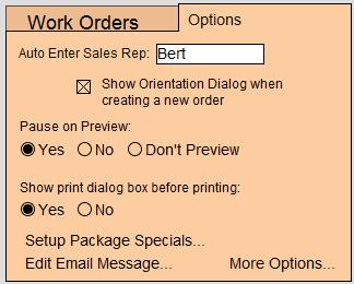 MM - WO - Options