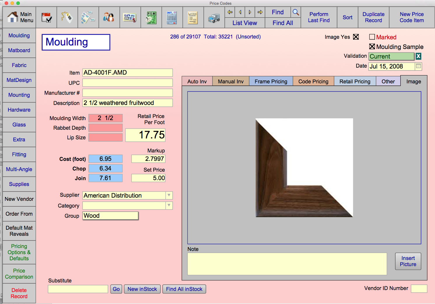 PC image tab