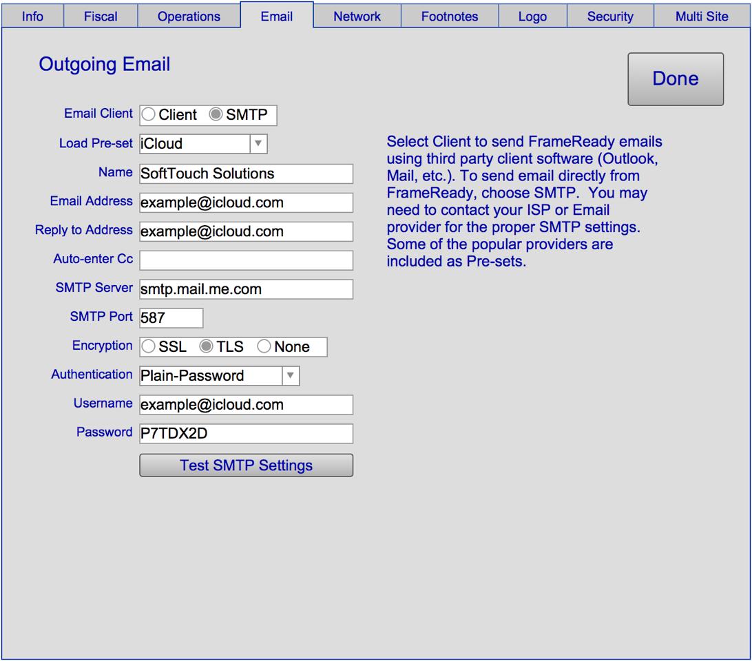Setup 4 - Email