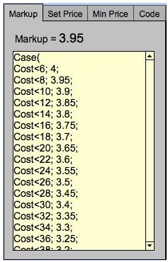 Markup Calc