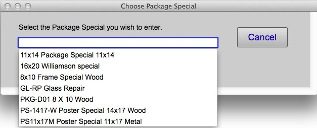 Package Special
